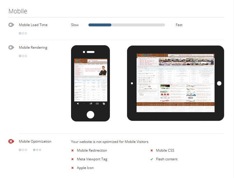 Thiết kế website chuẩn mobile chính là một tiêu chí để Google đánh giá xếp hạng website